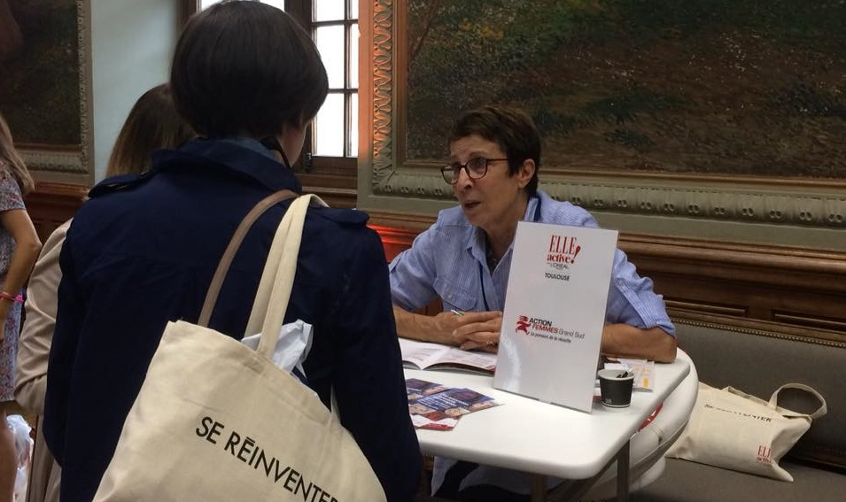 action femmes grand sud au Forum Elle Active 2019 à Toulouse