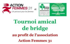tournoi bridge Rotary Club Toulouse Lauragais Action Femmes 31