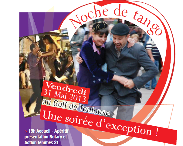 tango Rotary Club Toulouse Lauragais action femmes 31